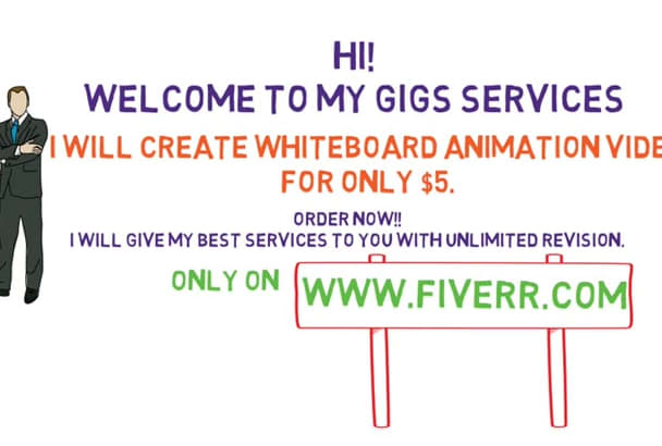 create Explainer Whiteboard Animation Video For You