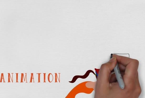 create stunning whiteboard animation