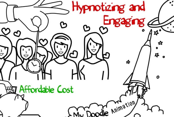 create Amazing Whiteboard Animation Video For You