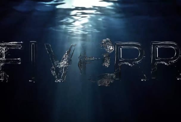 do water dance animation for your text