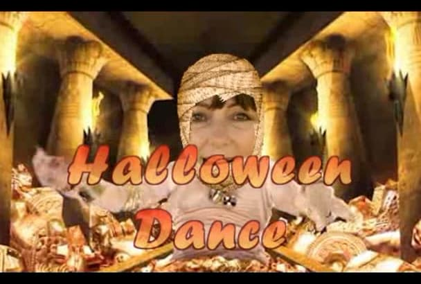 make HALLOWEEN Crazy Video starring you