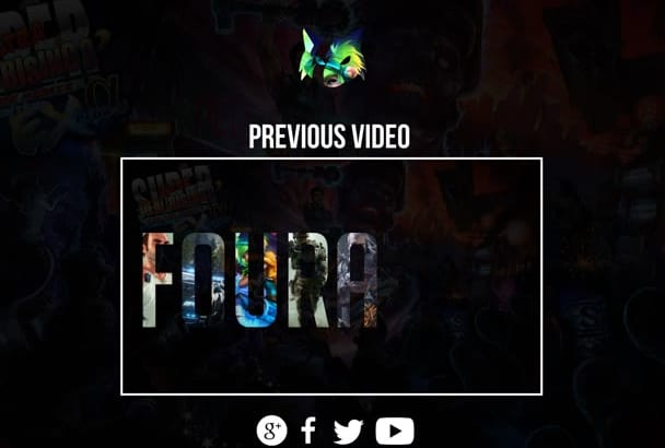 make Professional Gaming OUTRO Animation Video in Hd