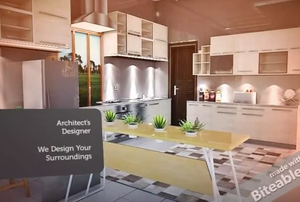 design your 3D Architectural floor plan in sketchup