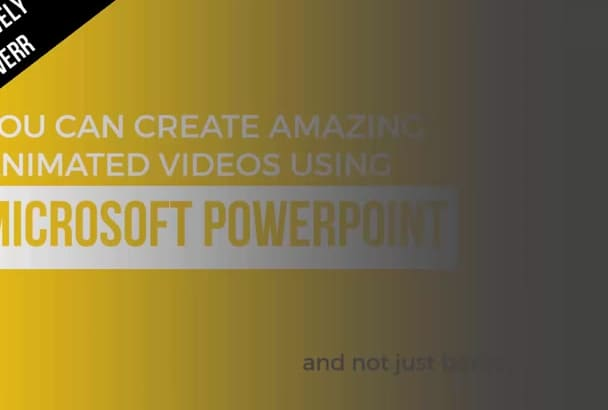 teach You How To Create ANIMATED Infographics In PowerPoint