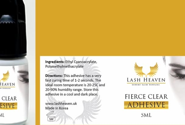design Product Label, Product Label Design