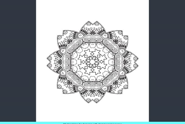 give you 30 awesome Mandalas for commercial use S4