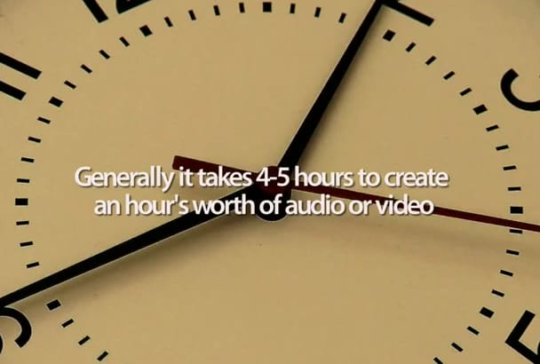 transcribe your 15 minute english audio or video