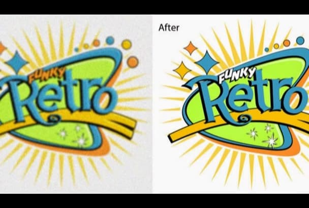 vectorise any image for you in 24 hours