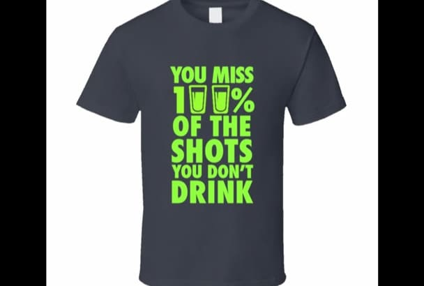 design customized t shirt