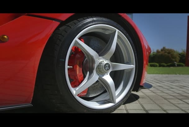 promote your Business on beautiful ferrari video