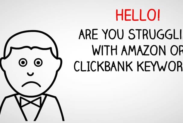 get you a profitable clickbank or amazon affliate niche