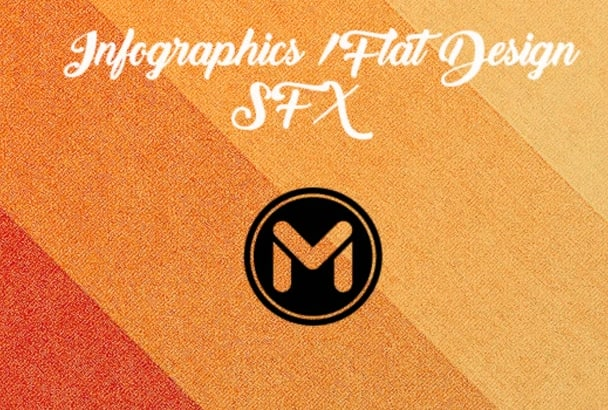 give you 44 Infographics, Flat Design SFX
