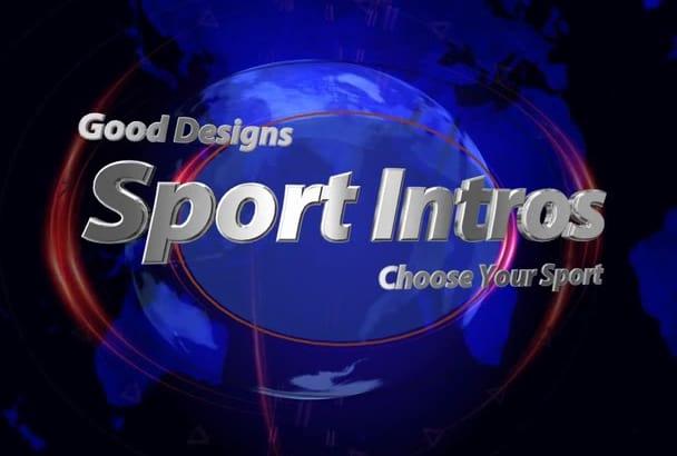provide a dynamic sport intro