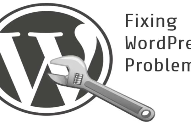 fix your website issues