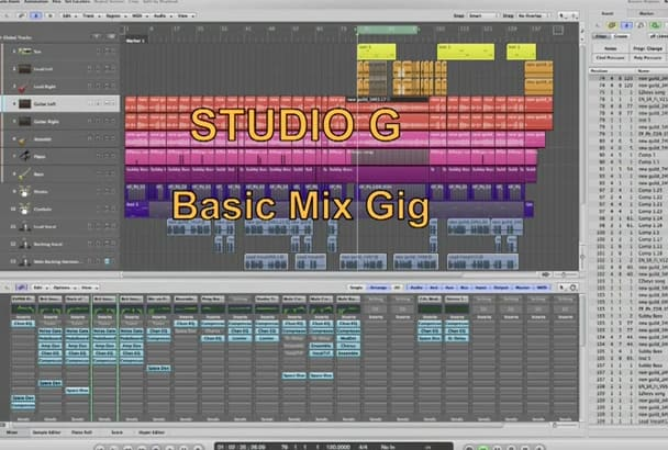 mix your tracks and give you a quickie Master