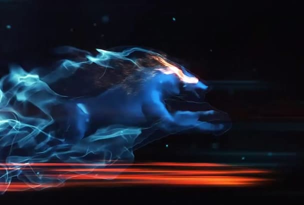 do this amazing wolf intro in 24 hrs