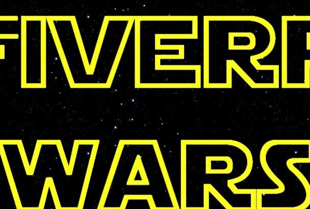 star wars intro style