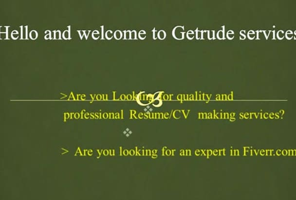write and design a professional Curriculum vitae, resume and cover letter