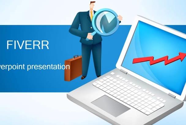 create a Powerpoint presentation, PDF
