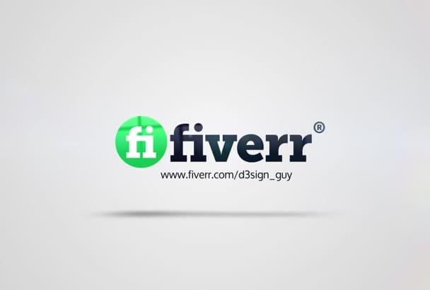 create clean logo reveal