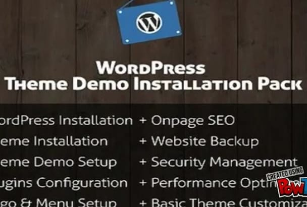 do Wordpress Setup and Fix any Wordpress issues and theme customisation