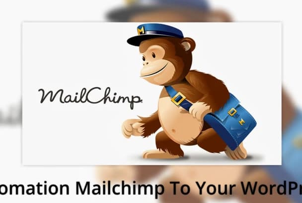 make Automation mailchimp to your wordpress