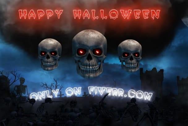 create This Amazing Halloween Intro