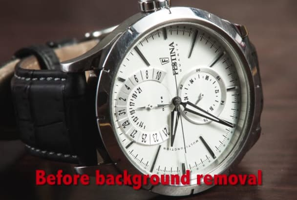 remove or change any background of 15 product photos