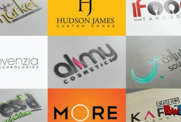 create OUTSTANDING Logo Design For You