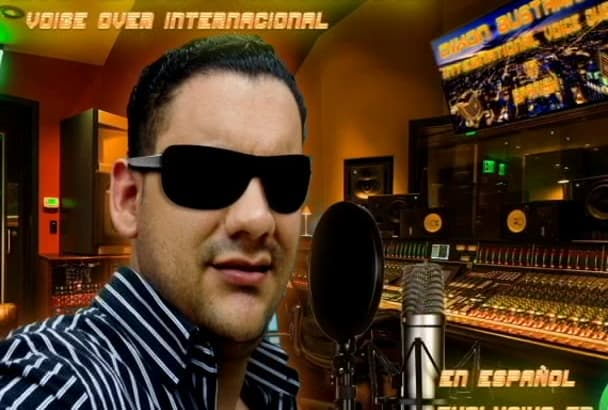 do professional Voice Over recordings in Spanish