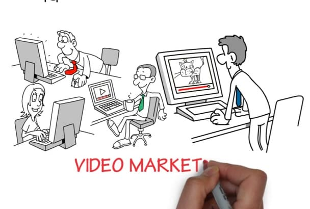 create an awesome Whiteboard animation video