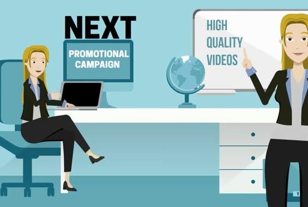 create POWTOON  animation video