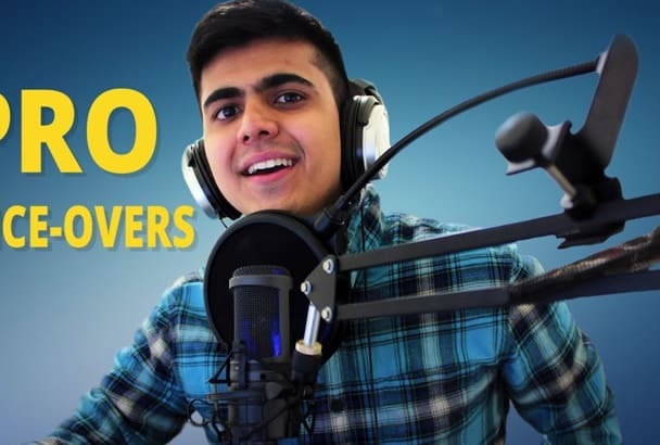 record a Professional American Male VoiceOver In 24 Hours