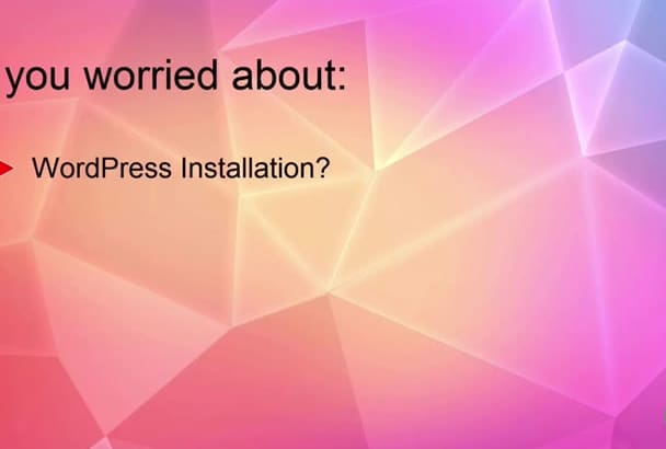 install and setup your wordpress website, plugin and theme