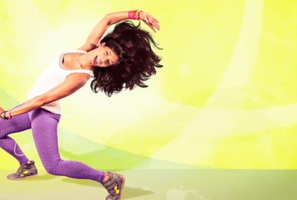 make Zumba Fitness Gym Promotion Video