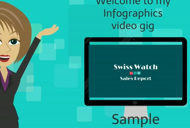 create an awesome INFOGRAPHICS video