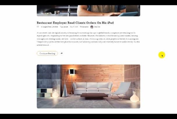 create wordpress website online