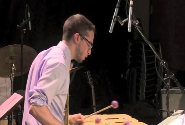 record vibraphone on your song