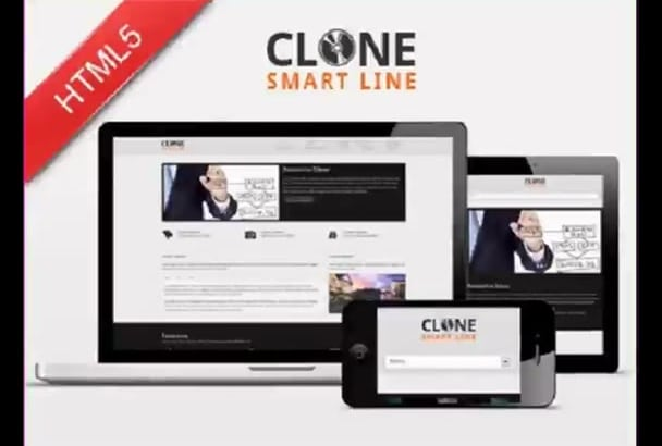 clone html,css and js awesome website within 24 hours