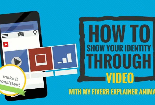 create a 2d animated video or explainer video