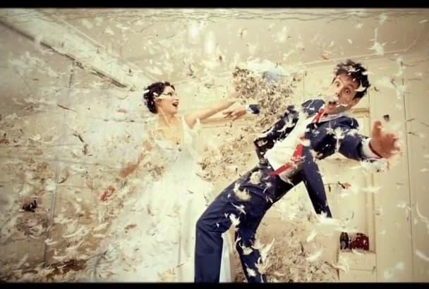 make amazing wedding video slideshow within 24 hours