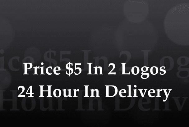 logo design for you, and a good price and fast delivery