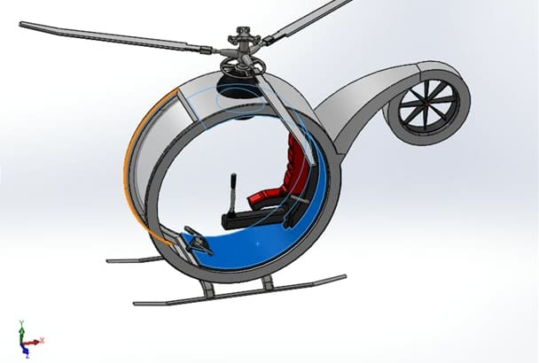 do 2D and 3D model, rendering in solidworks