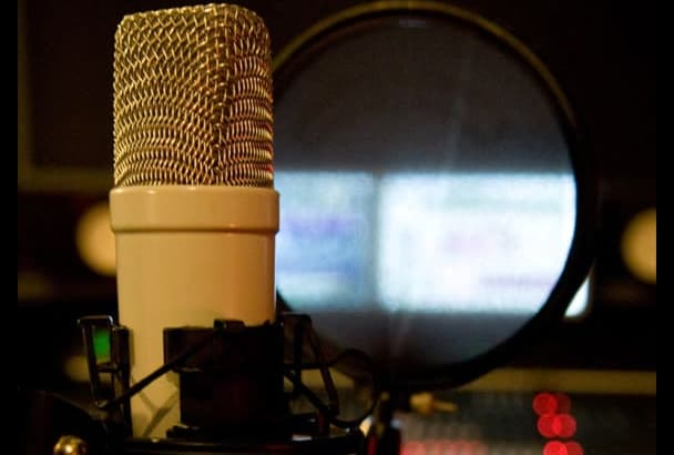 professional English or Spanish Voiceover