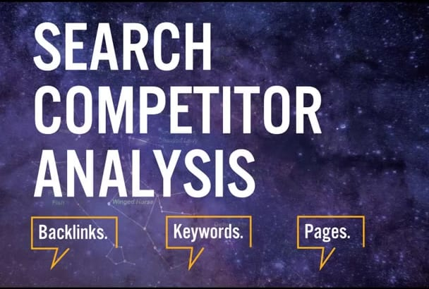provide Expert SEO audit and Competitors Analysis Reports