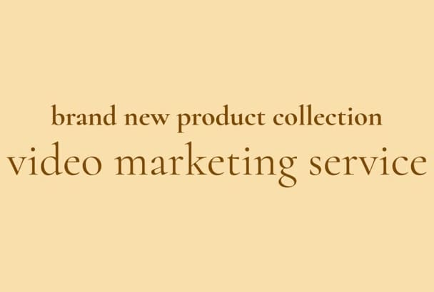 product marketing video advertorials