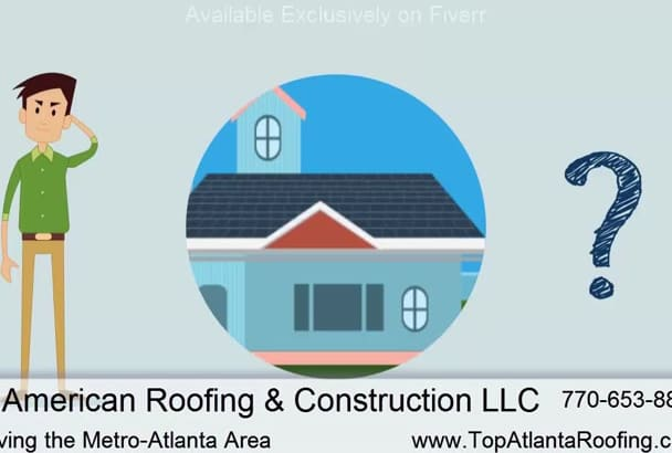 customize an Animated Video for Roofing Contractors
