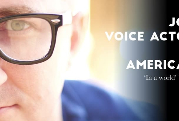 record an american voice over in any number of styles