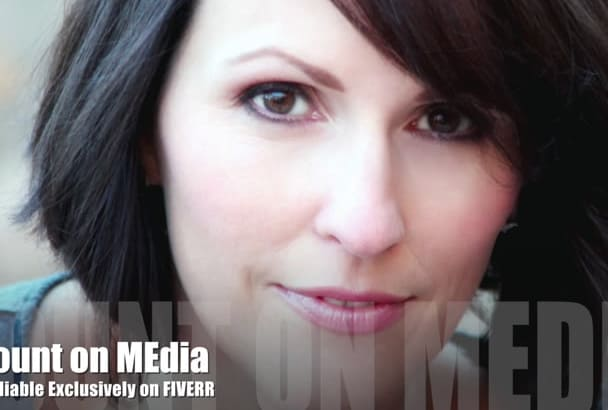record your  Professional American female voiceover