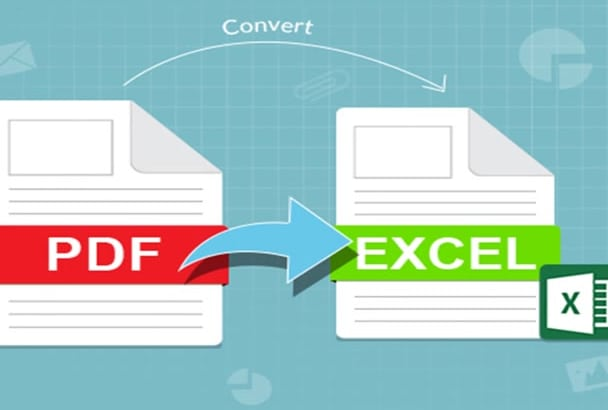 convert PDF to Excel by typing